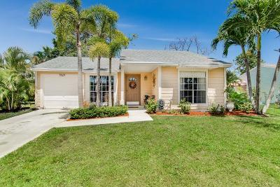 Boynton Beach Single Family Home For Sale: 5327 Courtney Circle