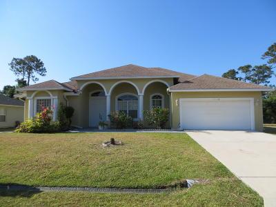 Port Saint Lucie Single Family Home Contingent: 1018 SW Payne Avenue