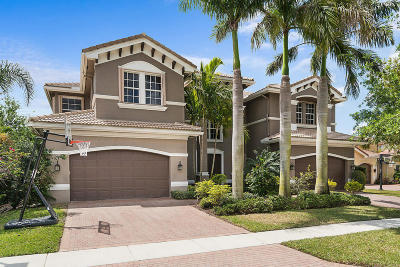 Boynton Beach Single Family Home For Sale: 8664 Hawkwood Bay Drive
