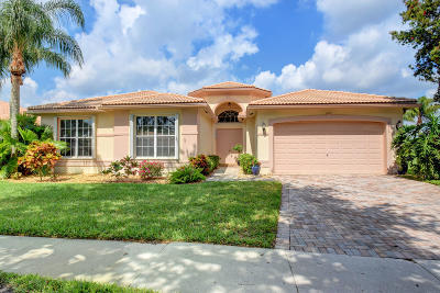 Boynton Beach Single Family Home Contingent: 6810 Fiji Circle