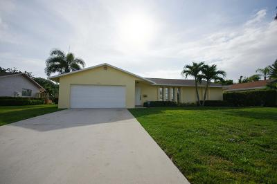 Palm Beach Gardens Single Family Home For Sale: 9630 Althea Way