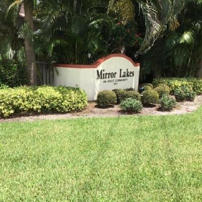 Boynton Beach Single Family Home For Sale: 5406 Mirror Lakes Boulevard