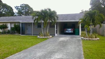 Port Saint Lucie Single Family Home For Sale: 1109 SE Sandia Drive