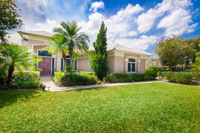 Palm City Single Family Home Contingent: 10376 SW Whooping Crane Way