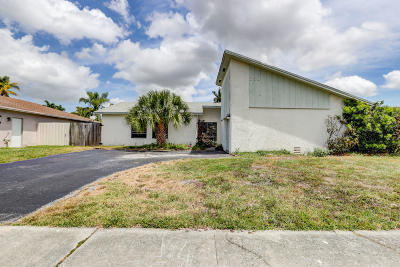 Deerfield Beach Single Family Home Contingent: 280 NW 41st Avenue