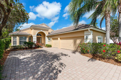 West Palm Beach Single Family Home For Sale: 8192 Cypress Point Road