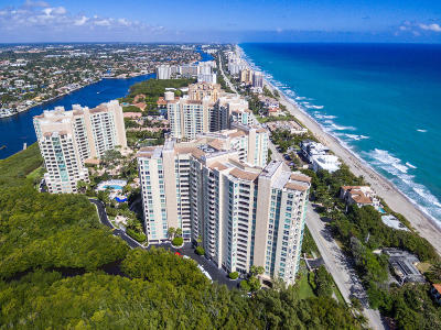 Highland Beach Condo For Sale: 3700 S Ocean Boulevard #903