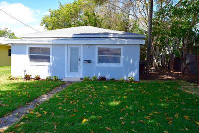 Boynton Beach Single Family Home Contingent: 227 NE 11th Avenue