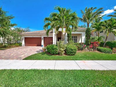 Jupiter Single Family Home Contingent: 119 Andros Harbour Place