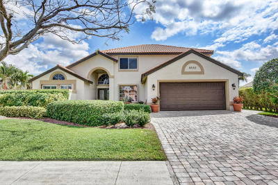 Boynton Beach Single Family Home For Sale: 8830 Cicero Drive
