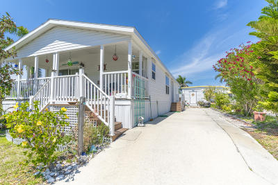 Mobile Home Sold: 400 Highway A1a #36