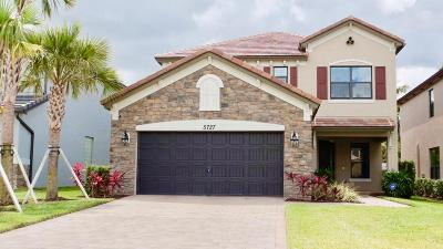 Lake Worth Single Family Home For Sale: 5727 Sandbirch Way