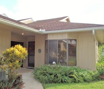 Hobe Sound Single Family Home For Sale: 12910 SE Berwick Court