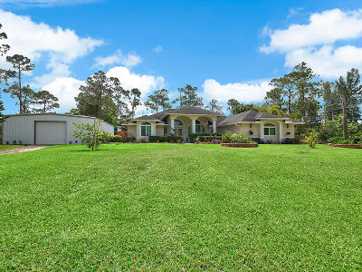Loxahatchee Single Family Home For Sale: 16432 E Goldcup Drive