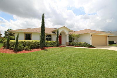 Royal Palm Beach Single Family Home Contingent: 142 Monterey Way