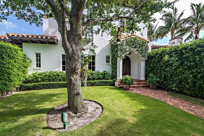 West Palm Beach Single Family Home Contingent: 229 E Lakewood Road