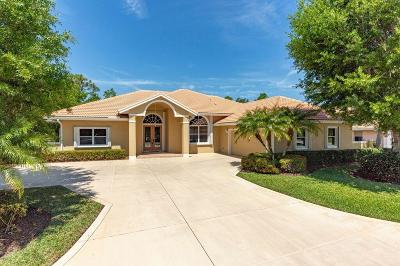 Hobe Sound Single Family Home For Sale: 5309 SE Lost Lake Way