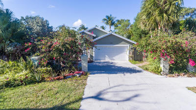 Palm Beach Farms, Palm Beach Farms Co 10 Of North Deerfield Pb6p1 Single Family Home For Sale: 1421 SW 18th Street