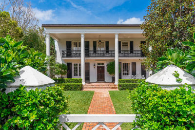 Palm Beach Single Family Home For Sale: 315 Tangier Avenue