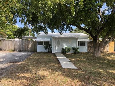 Boynton Beach Single Family Home Contingent: 3480 Ocean Parkway