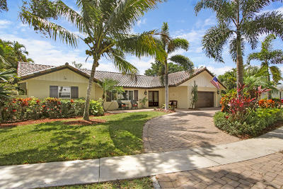 Boca Raton FL Single Family Home For Sale: $1,000,000