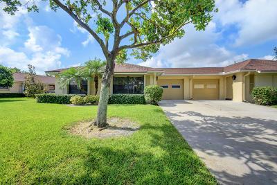 Boynton Beach Single Family Home For Sale: 4125 Pear Tree Circle #A