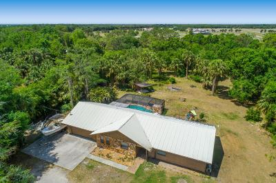 Fort Pierce Single Family Home For Sale: 6040 Whipoorwill Lane