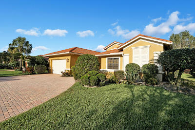 Boynton Beach Single Family Home For Sale: 10444 Tivoli Lakes Boulevard
