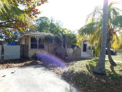 Lake Worth Single Family Home For Sale: 606 S Pine Street