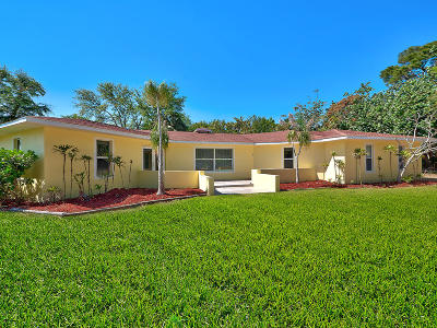 Stuart Single Family Home Contingent: 2029 NW Pine Tree Way