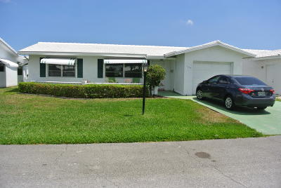 Boynton Beach Single Family Home Contingent: 1708 SW 20th Street