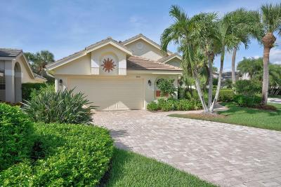 Jupiter Single Family Home For Sale: 3880 Shearwater Drive
