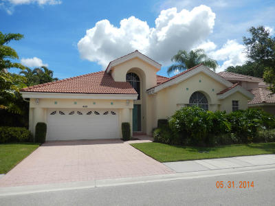Palm Beach Gardens Rental For Rent: 403 Eagleton Cove Way