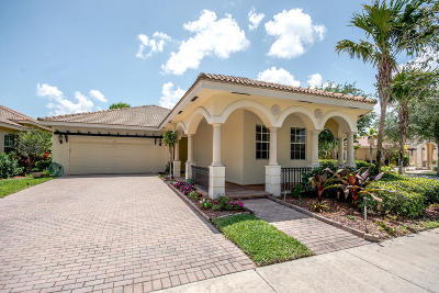Jupiter Single Family Home Contingent: 106 Palmfield Way