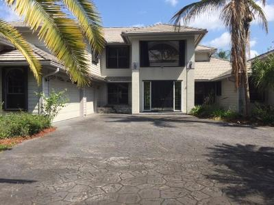 Palm City Single Family Home For Sale: 2012 SW Racquet Club Drive