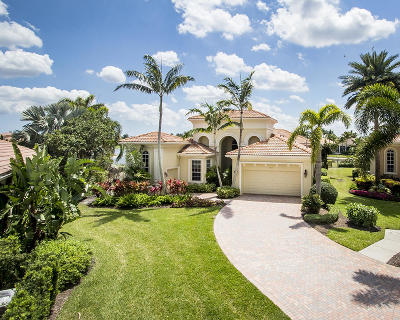 West Palm Beach Single Family Home For Sale: 7054 Tradition Cove Lane W