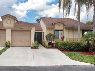 Boca Raton Single Family Home For Sale: 8205 Springview Terrace