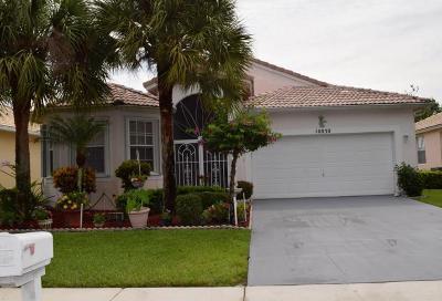 Boynton Beach Single Family Home For Sale: 10830 Fillmore Drive