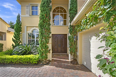 Palm Beach Gardens Single Family Home Contingent: 167 Via Condado Way