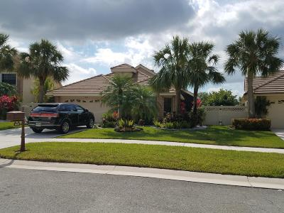 Boynton Beach Single Family Home For Sale: 6828 Bitterbush Place