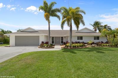 Boynton Beach Single Family Home Contingent: 4860 Palo Verde Drive