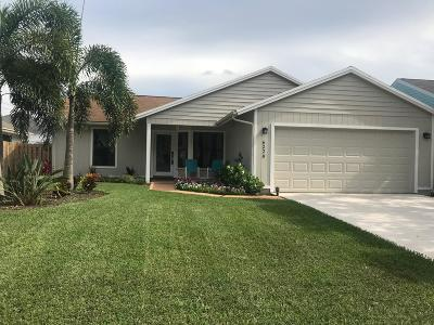 Jupiter Single Family Home For Sale: 6228 Michael Street