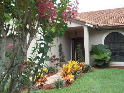Delray Beach Single Family Home Contingent: 5770 Aspen Ridge Circle
