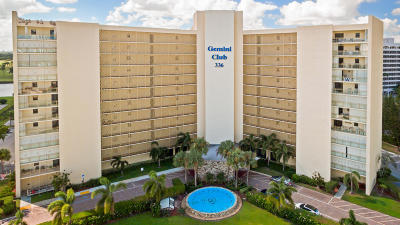 North Palm Beach Condo For Sale: 336 Golfview Road #514