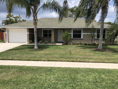 Palm Beach Gardens Single Family Home Contingent: 3185 Capri Road