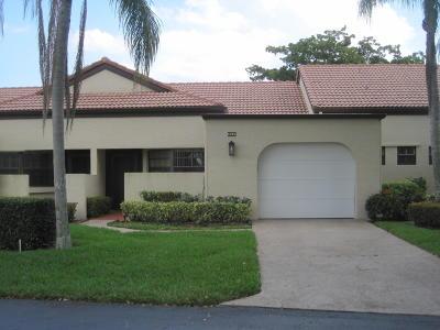 Boynton Beach Single Family Home For Sale: 8258 Mooring Circle