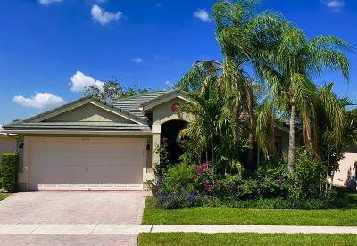 Wellington Single Family Home Contingent: 2483 Country Golf Drive