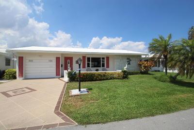 Boynton Beach Single Family Home For Sale: 1605 SW 14th Avenue