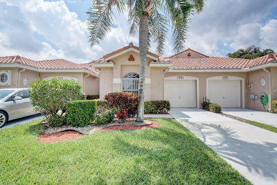 Boynton Beach Single Family Home For Sale: 6188 Key Largo Lane