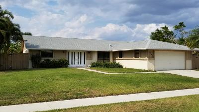 Boynton Beach Single Family Home For Sale: 5381 Benjamin Avenue